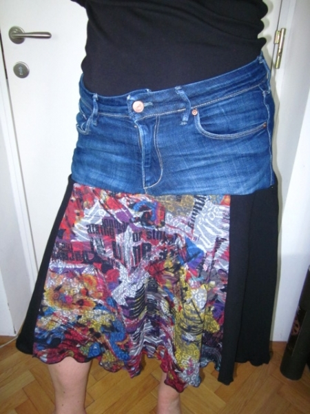 CAPRICE mit Jeans-Recycling